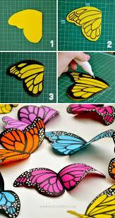 butterfly-craft-image-k4craft Amazing Butterfly Craft Step by Step Tutorials