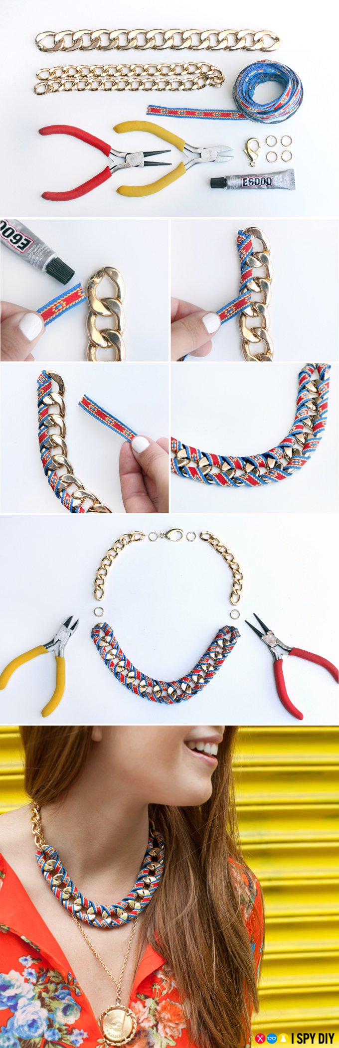 diy-necklace-jewelry-tutorial-craft-ideas Step by Step Tutorial for Jewelry Making