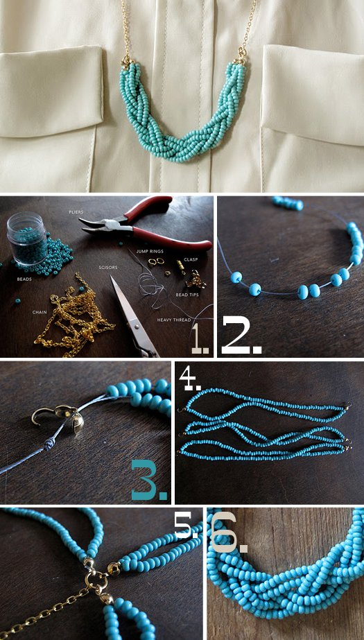 Step by Step Tutorial for Jewelry Making
