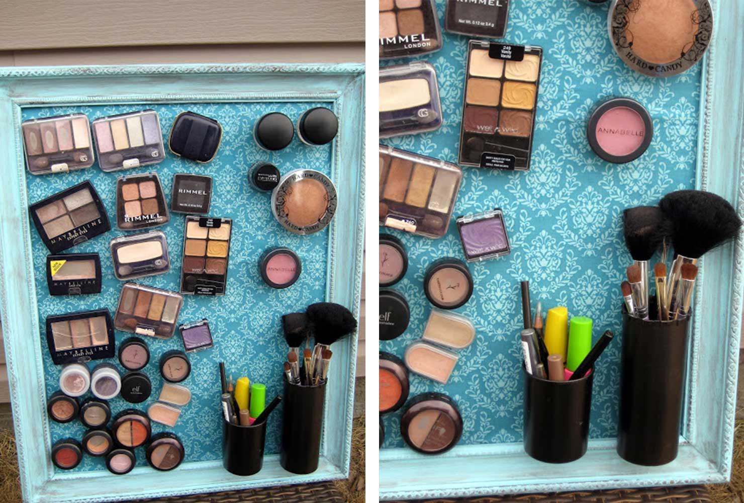 Diy Teen Room Decor Makeup Display K4 Craft