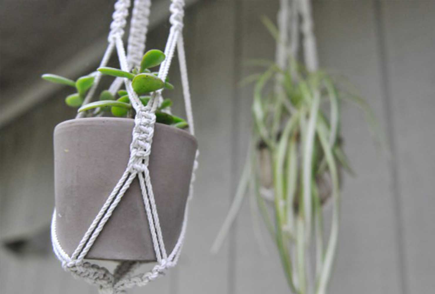DIYPlant Hangers DIY Decor Ideas For Teen Girls (Step by step)