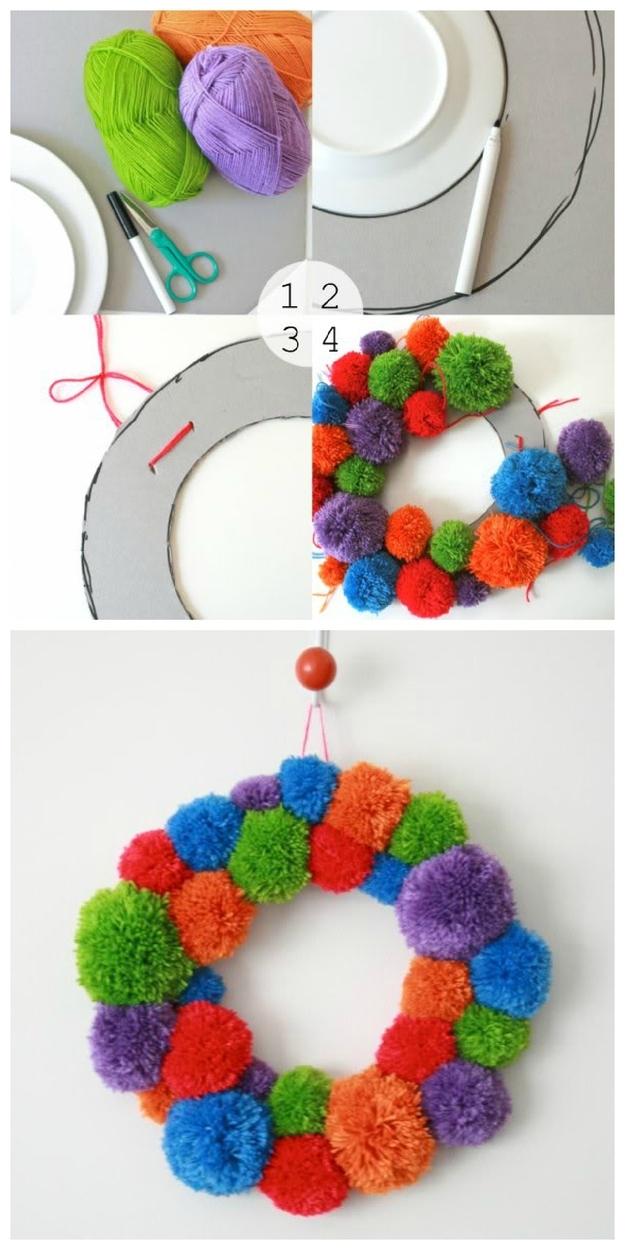 Awesome No-Knit DIY Yarn Project Tutorials