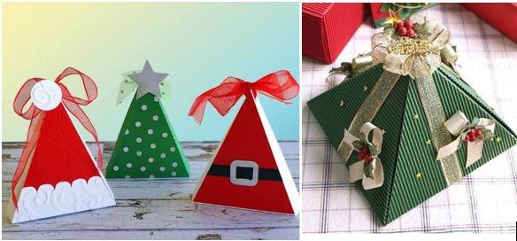 diy-triangular-christmas-gift-box-tutorial