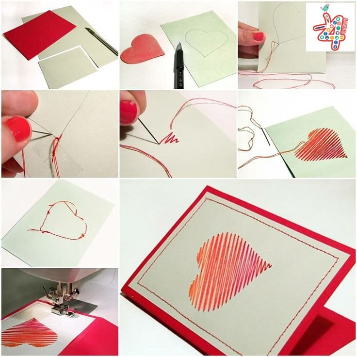 paper-love-card-k4craft Heart Shaped Crafts Step by Step Tutorial