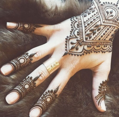bewildering-arabic-mehndi-designs Beautiful Arabic Mehndi Latest Designs [2020]