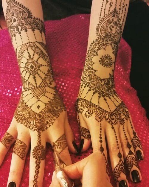 charming-arabic-mehndi-designs Beautiful Arabic Mehndi Latest Designs [2020]