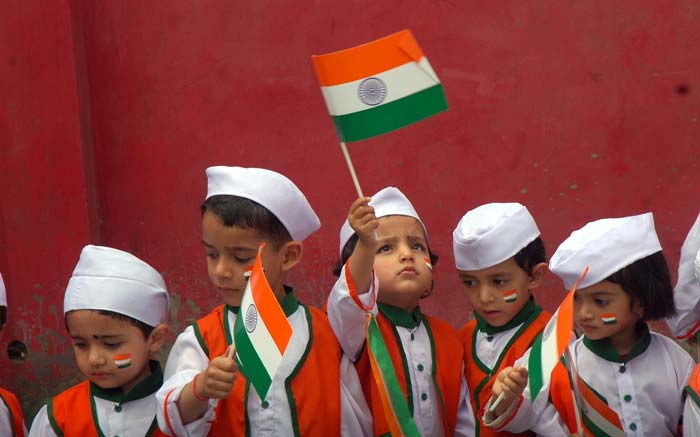 Cute-Kids-Celebrating-Independence-Day-Of-India The Ultimate List: 50+ Ideas for India Republic Day Celebration