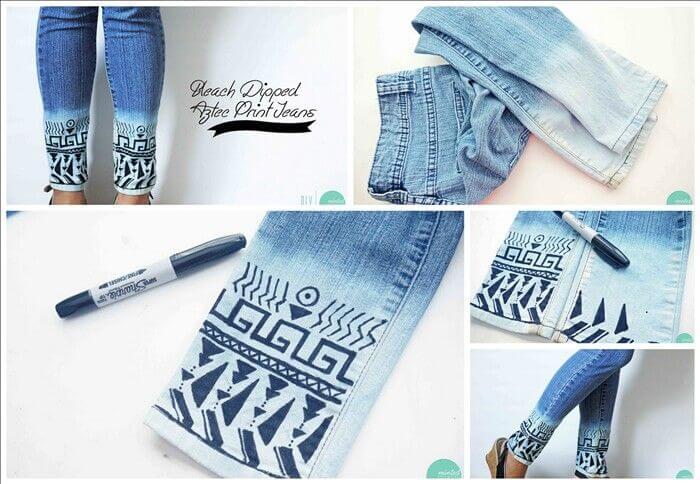 DIY Jeans Customization Ideas