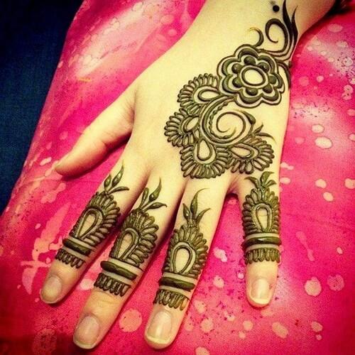 decorative-hand-arabic-mehndi-designs Beautiful Arabic Mehndi Latest Designs [2020]