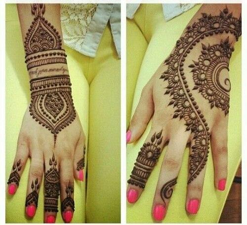 detailed-hand-arabic-mehndi-designs Beautiful Arabic Mehndi Latest Designs [2020]