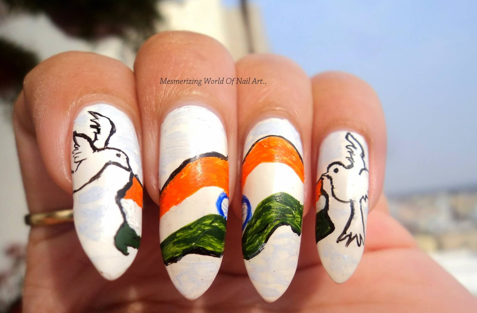 Indain republic day nail art The Ultimate List: 50+ Ideas for India Republic Day Celebration