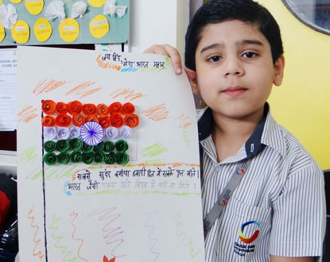 India Tri Color kids card making The Ultimate List: 50+ Ideas for India Republic Day Celebration