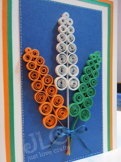 India Tri Color quilling card The Ultimate List: 50+ Ideas for India Republic Day Celebration