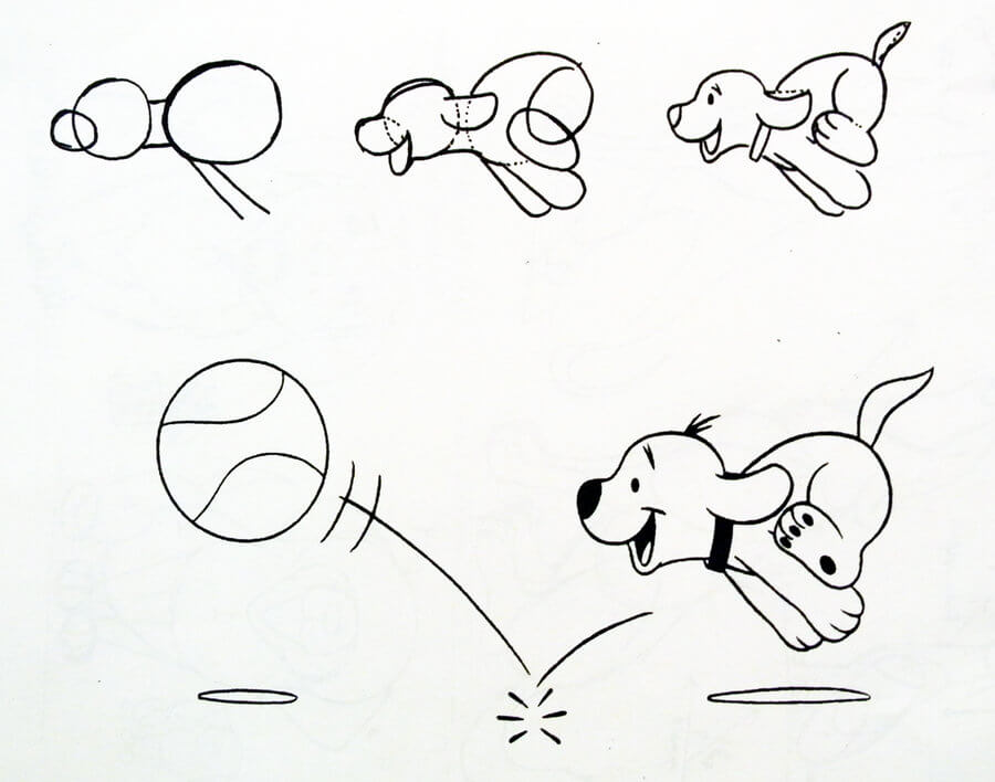 Learn to Draw dog (puppy) Drawing Lessons: Easy Step by Step Drawing Tutorials