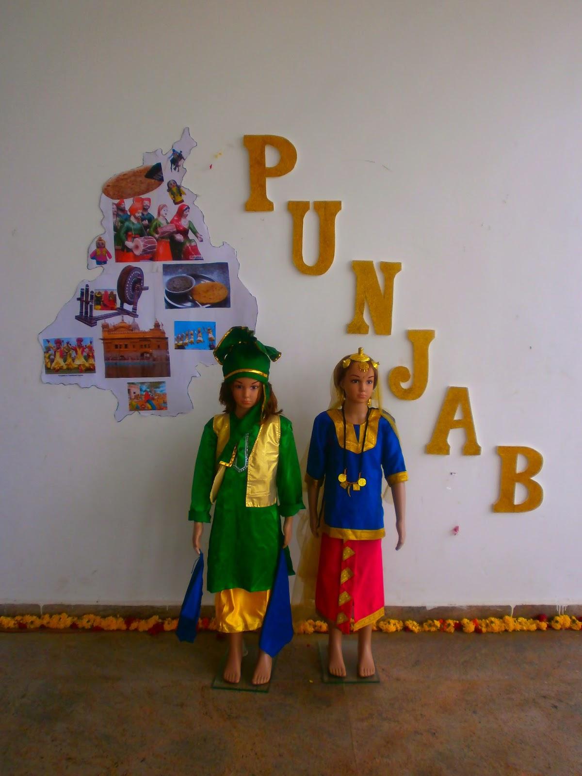 Beautiful Punjab themed decorations for Lohri Beautiful Craft ideas for Lohri Festival