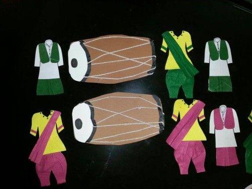 Lohri-Festivle-Easy to make Lohri crafts
