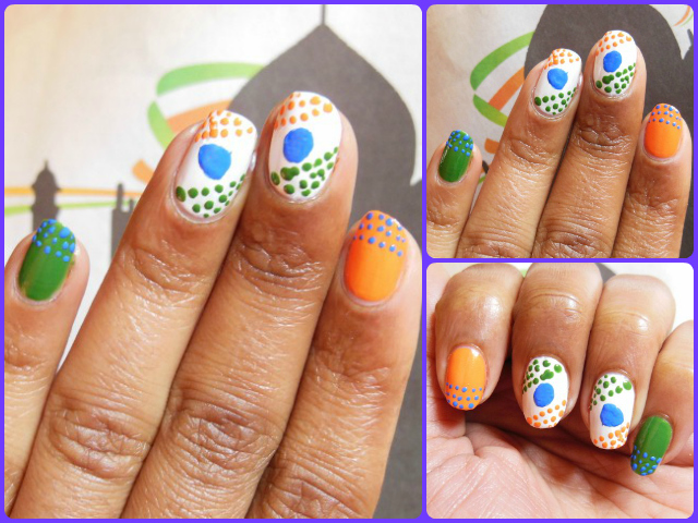Republic-day-Inspired-Nail-Art The Ultimate List: 50+ Ideas for India Republic Day Celebration