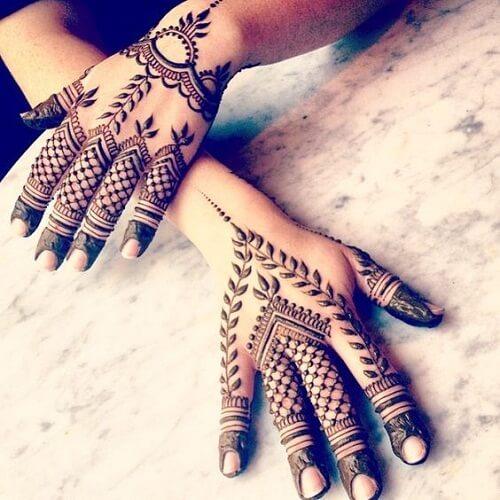 seductively-detailed-arabic-mehndi-designs Beautiful Arabic Mehndi Latest Designs [2020]