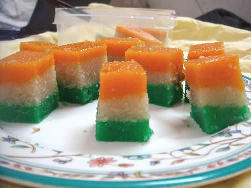 Tri-Color-Sweets-Decoration-On-Independence-Day-Of-Indai The Ultimate List: 50+ Ideas for India Republic Day Celebration