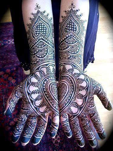 wedding-mehndi-designs-for-bridals-Outstanding Bridal Mehndi Designs For Your Wedding Day