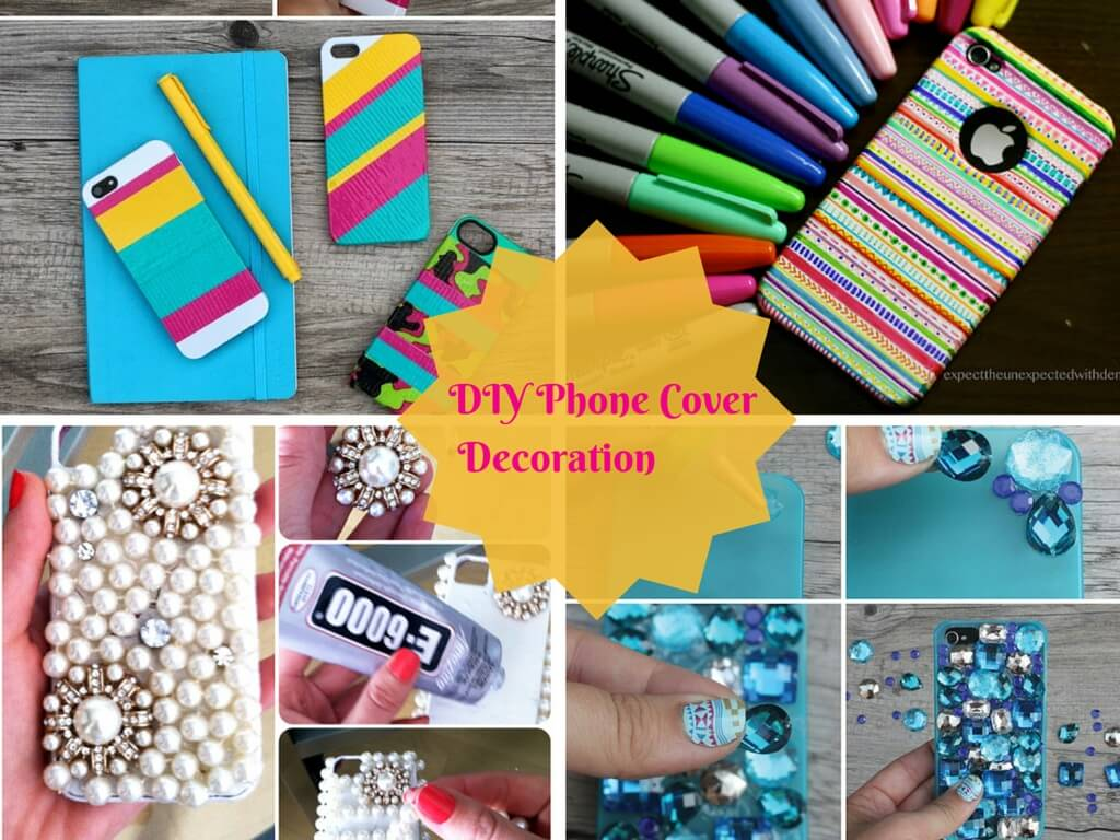 Diy Easy Mobile Phone Case Decoration Ideas Step By Step K4 Craft