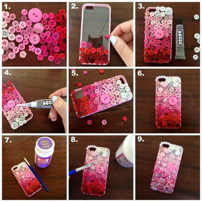 diy-phone-case-creative-ideas- Easy Mobile Phone Case Decoration Ideas - Step by step
