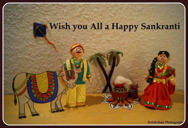 happy-sankranti Creative Craft Ideas for Makar Sanskranti / Pongal
