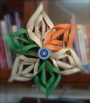tri color paper wall hanging The Ultimate List: 50+ Ideas for India Republic Day Celebration