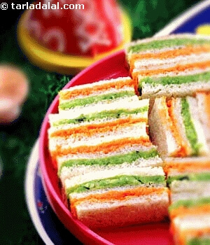 tricolor-sandwiches The Ultimate List: 50+ Ideas for India Republic Day Celebration