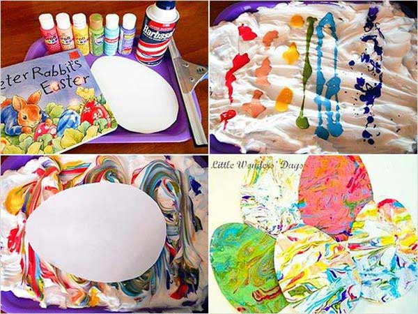 COLOR TO-SUMMON-CREATIVITY-Easter-Crafts DIY Cute and Creative Easter Crafts For Kids