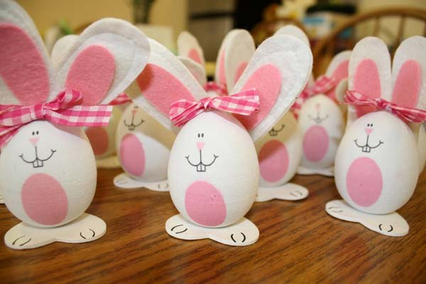 EASTER BUNNY EGGS WITH EASE DIY Cute and Creative Easter Crafts For Kids