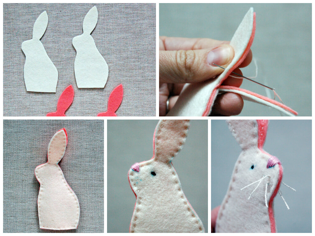 Easy-easter-craft-Make-a-bunny DIY Cute and Creative Easter Crafts For Kids