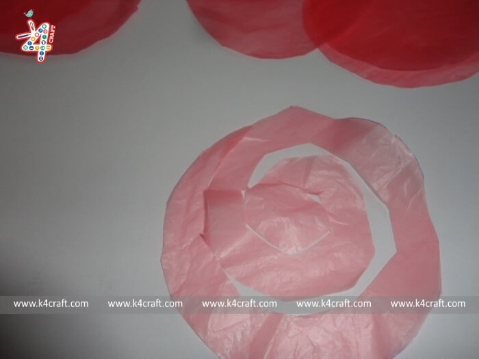 Flowers-Vases-RECYCLED: Flowers using plastic shopping bag (Tutorial)