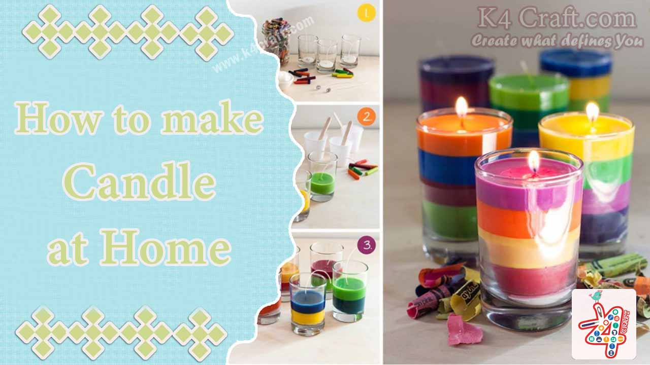 Beautiful candles for birthdays Birthday Party Craft Ideas