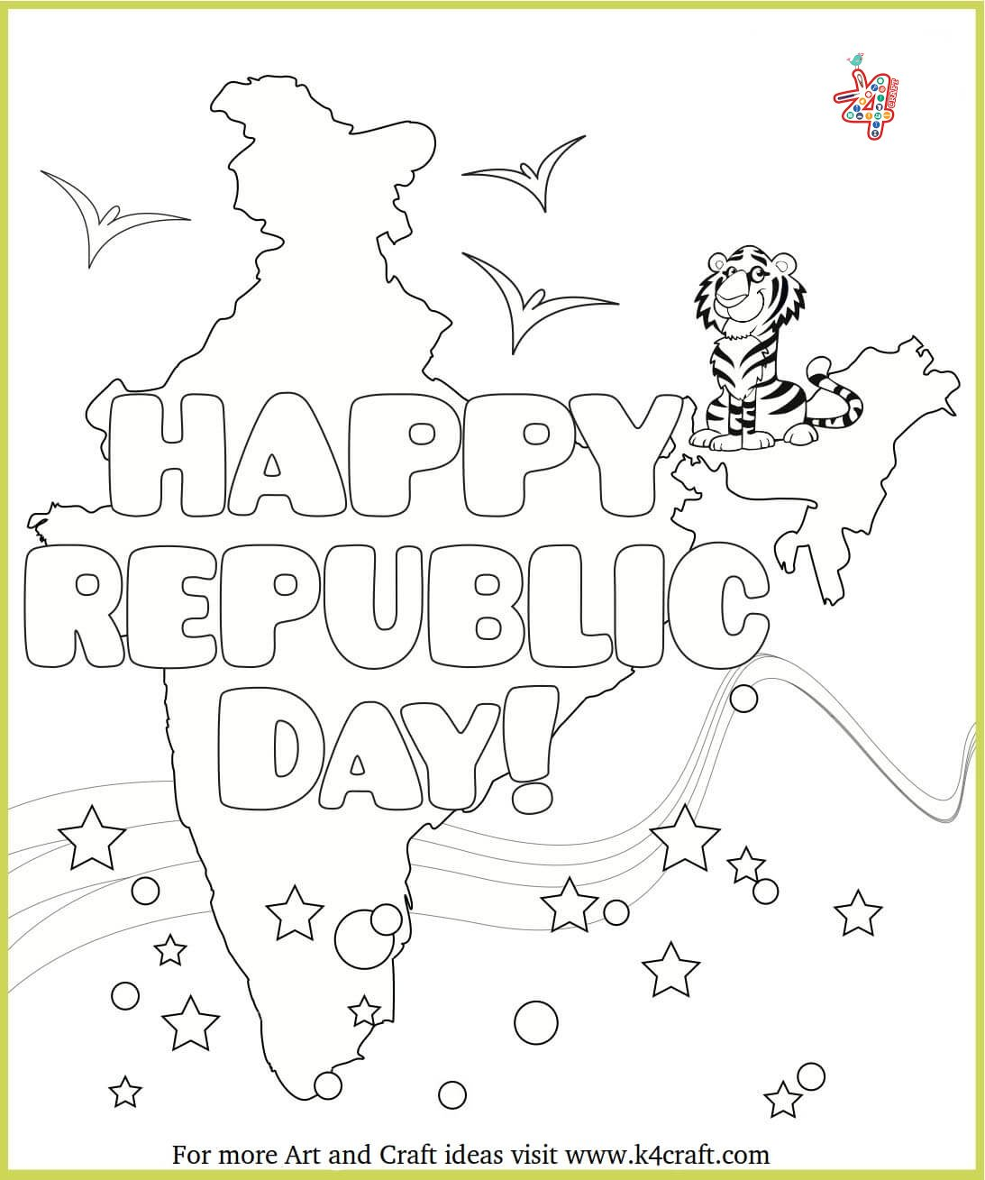 India-map-drawing-art The Ultimate List: 50+ Ideas for India Republic Day Celebration