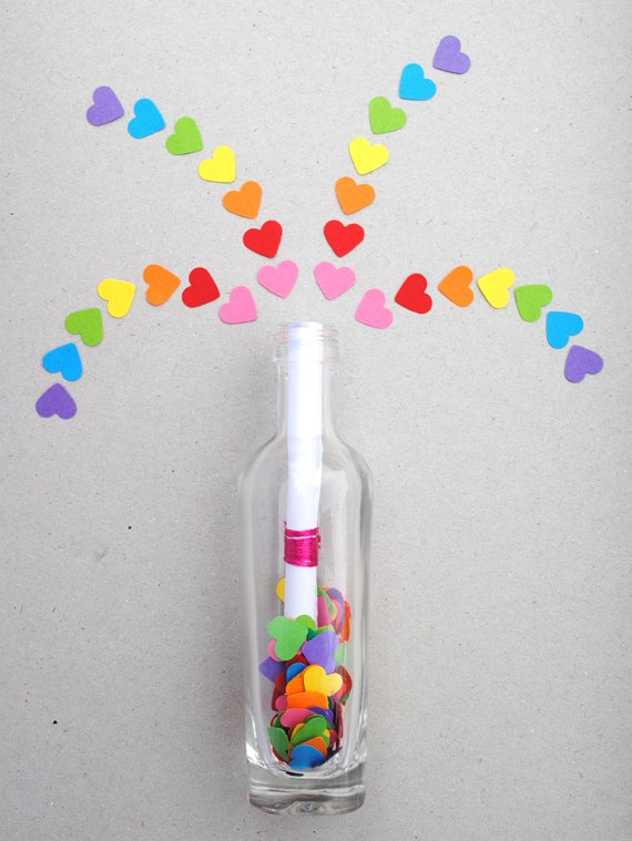 Invisible-Ink-Message-Bottle 30+ Easy Valentine's Day Crafts for Kids