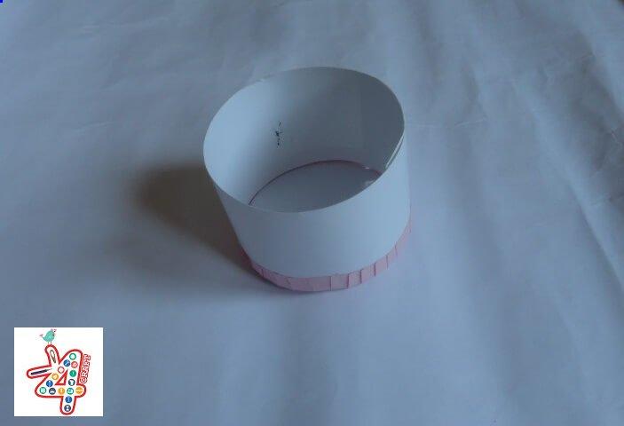 Jewellery-Box-DIY Paper Crafts : Tissue paper Jewelery Box Tutorial