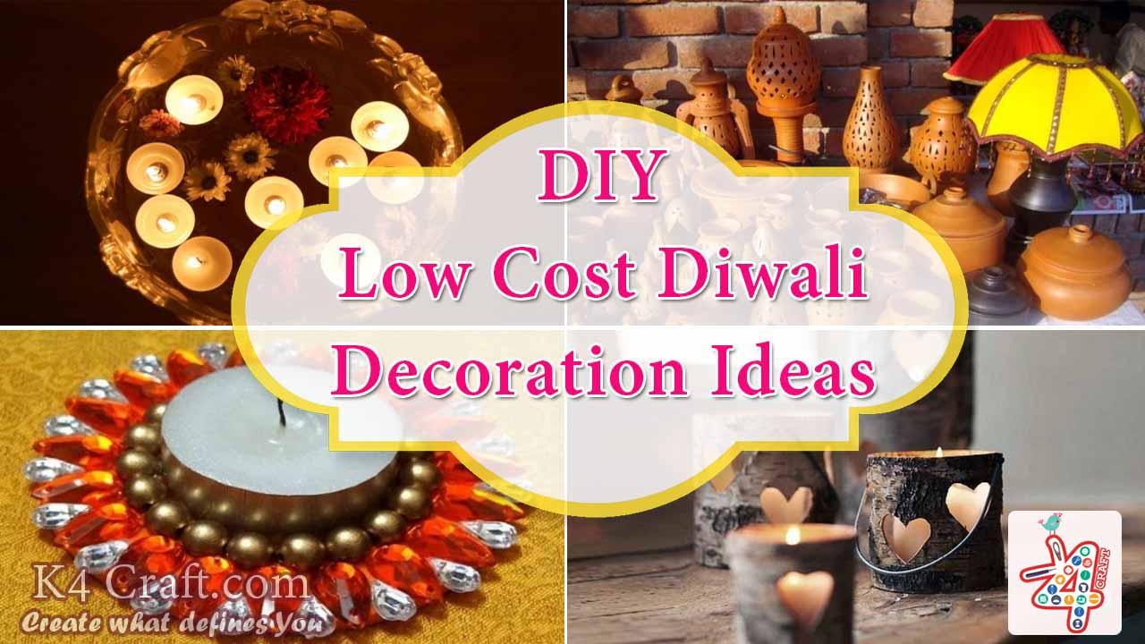 Low Cost Diwali Decoration Ideas K4 Craft,Modern Front Door Ideas
