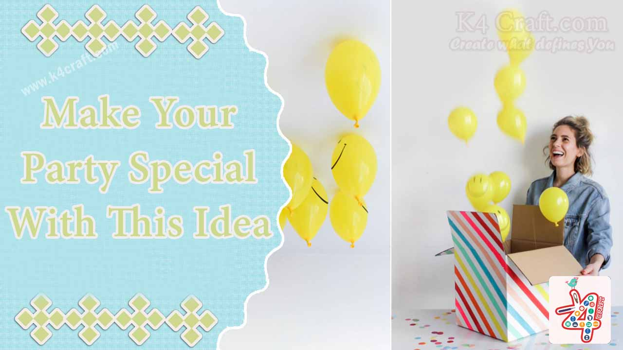 Make birthday parties special with these decoration ideas Birthday Party Craft Ideas