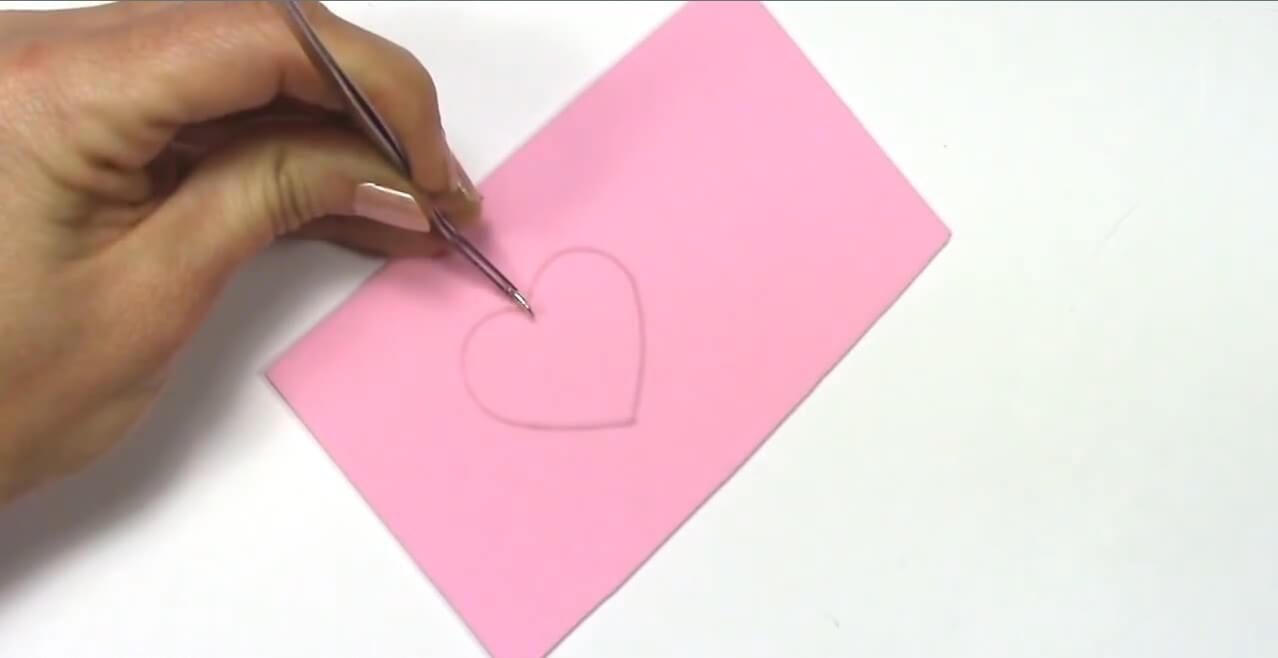 Resin-Pendant-Heart Shaped Resin Pendant Tutorial