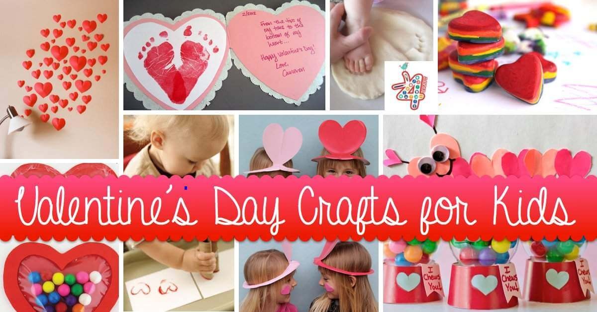 Valentine's Day Easy Crafts Valentine's Day Handmade Cards and Gift Ideas - Step by step