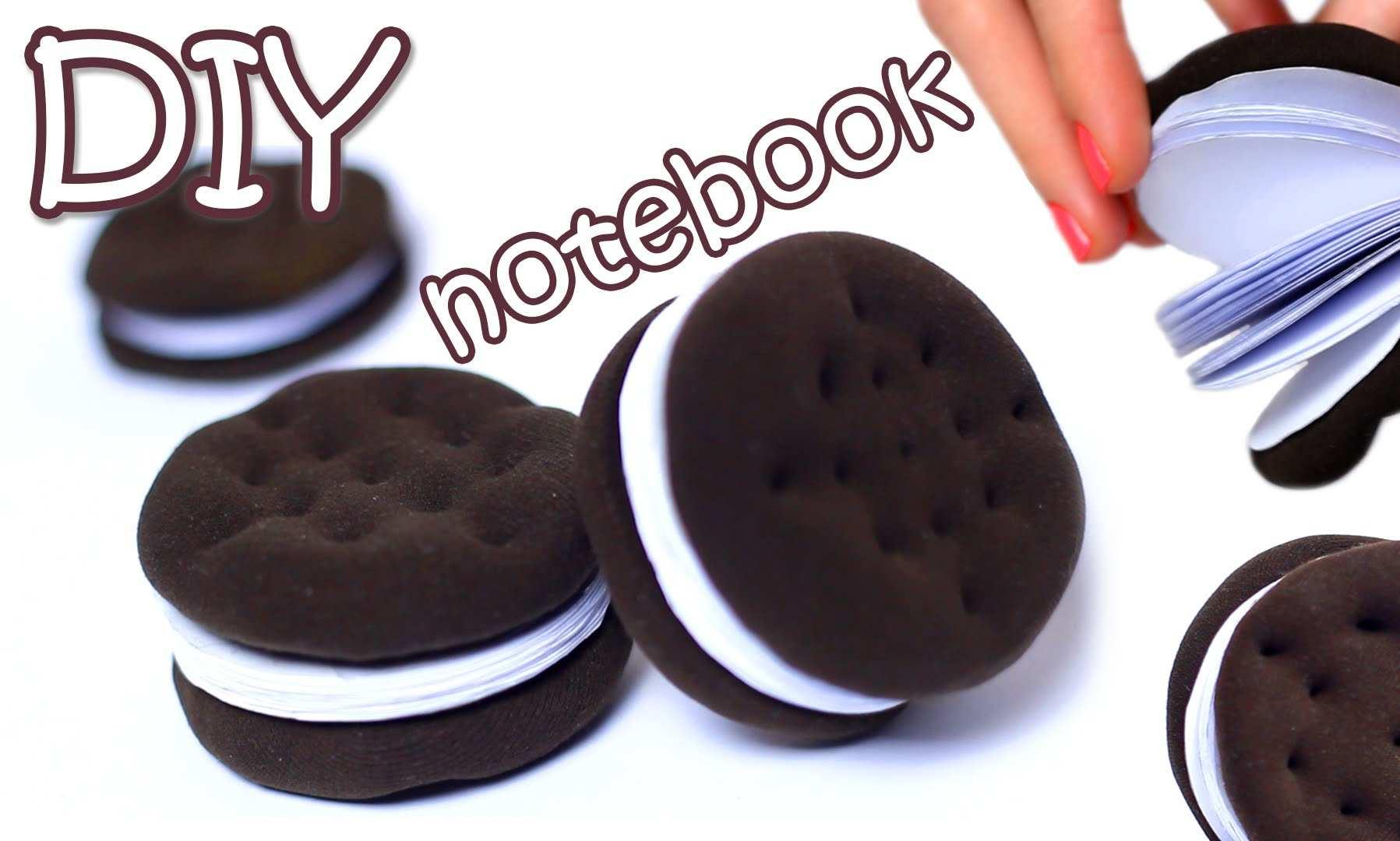 oreo-book Learn To Make Cute Origami Mini Notebook