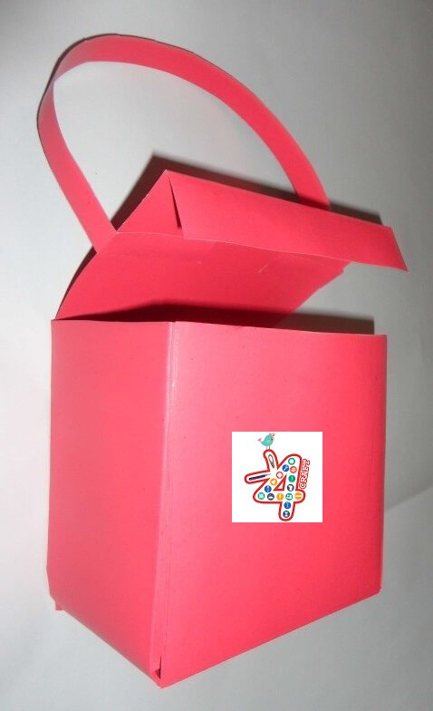 paper gift bag DIY Crafts: Paper GIFT BAG (Easy) - Step by step