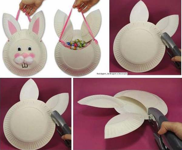 paper-plate-Easter-Crafts-for-Kids DIY Cute and Creative Easter Crafts For Kids