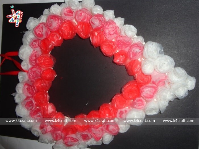 valentine-heart-Beautiful Heart Shaped Wreath for Valentine's Day (Tutorial)