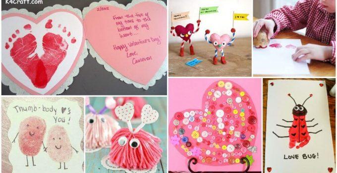 30 Easy Valentine S Day Crafts For Kids K4 Craft