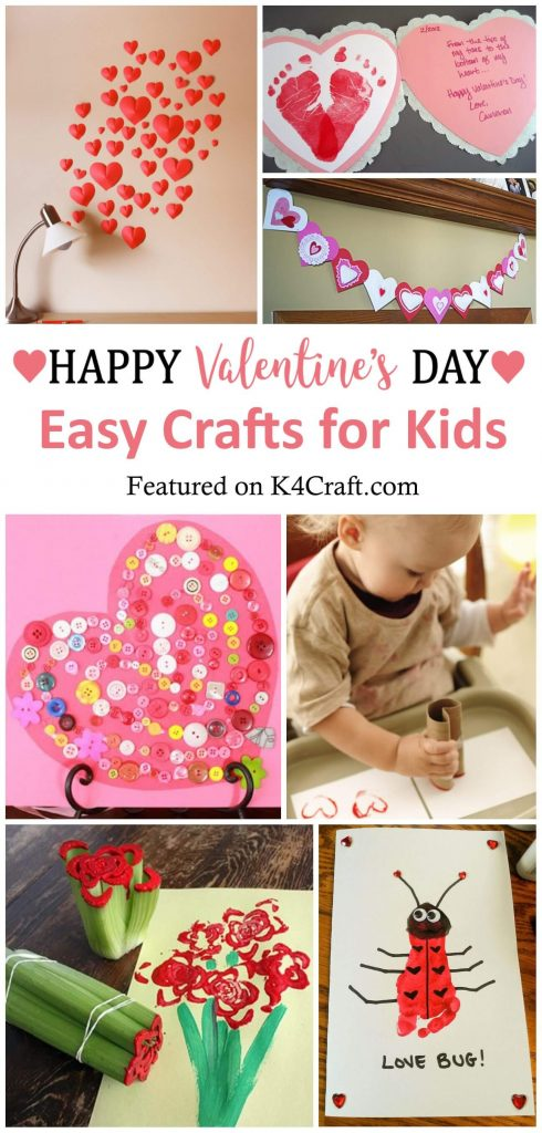 30+ Easy Valentine's Day Crafts for Kids 30+ Easy Valentine's Day Crafts for Kids