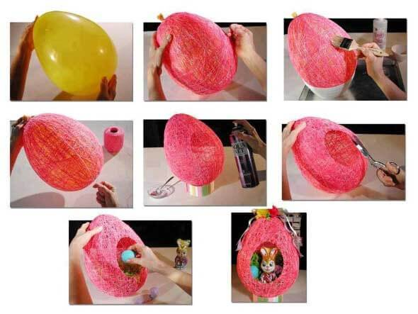 Easy-Crafts-Using-Balloons-20+ Amazing Crafts Using Balloons - Fun Projects
