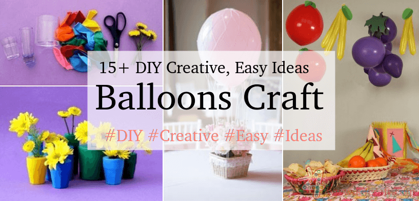 Balloon crafts for birthday parties Birthday Party Craft Ideas