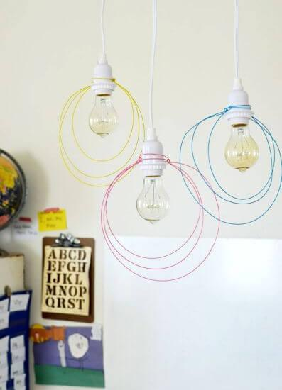 Handcrafted-Galvanized-Wire-k4craft-How to Make Handcrafted Light Pendant (Tutorial)